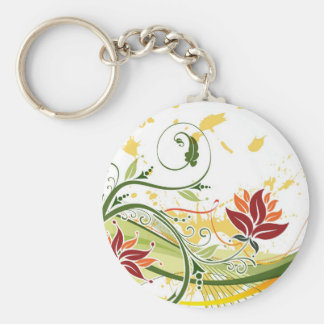 A-Splash-of Colors Multiple Product selected Basic Round Button Keychain