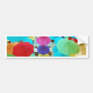 A splash of colour bumper sticker