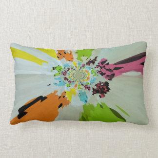 A splash of colours cushion