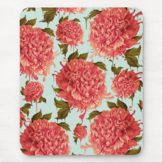 A Splash of Peony, A Dash of Color Mouse Pad