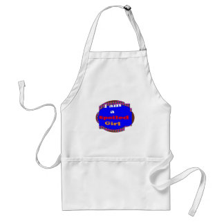 A SPOILED girl quote naughty funny smiley helpful Apron