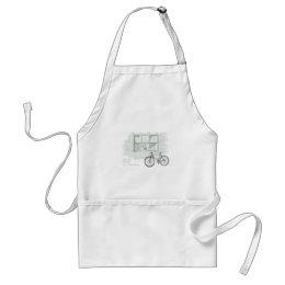 A spontaneous journey adult apron