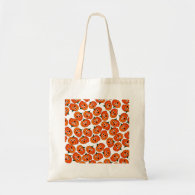 A Spooked Pumpkin (Add Background Color) Tote Bag