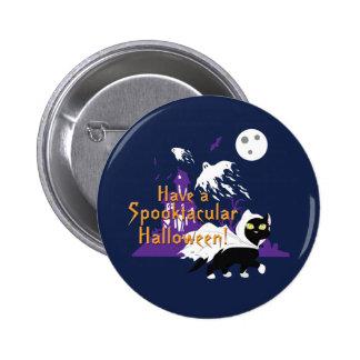 A Spooktacular Halloween 2 Inch Round Button