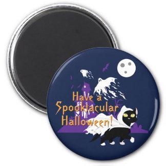 A Spooktacular Halloween Magnet
