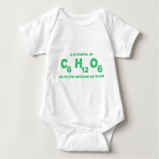 A Spoonful of C6H12O6 Helps the Medicine Go Down Baby Bodysuit