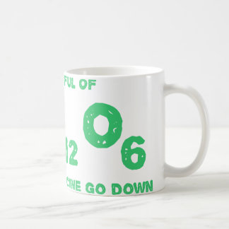 A Spoonful of C6H12O6 Helps the Medicine Go Down Coffee Mug