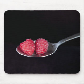 A Spoonful of Raspberries Mouse Pad