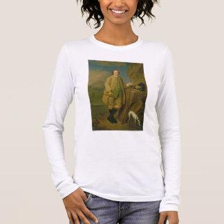 A Sportsman, 1752 (oil on canvas) Long Sleeve T-Shirt