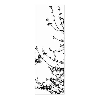 A spring affair bookmark Double-Sided mini business cards (Pack of 20)