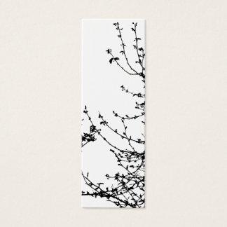 A spring affair bookmark mini business card