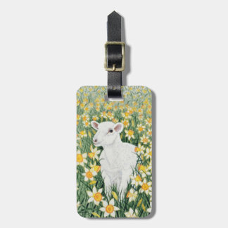A Spring in the Step Bag Tag