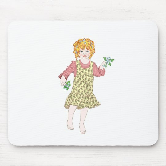 A Spring In Your Step Mouse Pad