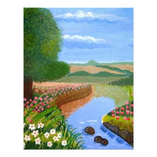A Spring Stream Letterhead