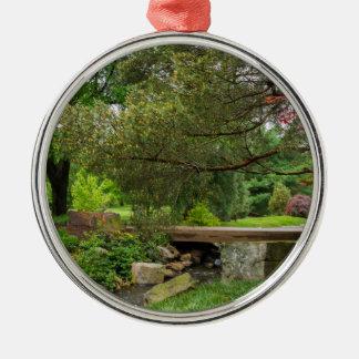 A Spring Stroll Metal Ornament