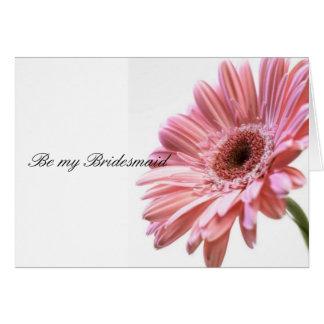 A spring Wedding  Set Greeting Card