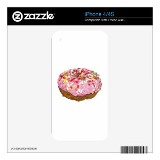 A Sprinkled Donut Decal For iPhone 4S