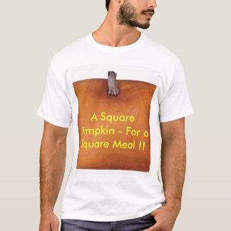 A Square Pumpkin T-Shirt