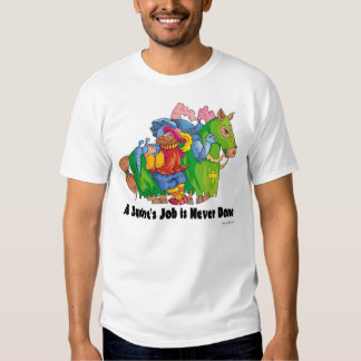 A Squire's Job is Never Done. Tshirts