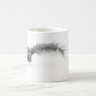 A Squirrel Jumping Out Of The Picture Mug