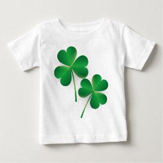 A St. Patrick's Day Green Shamrock Baby T-Shirt