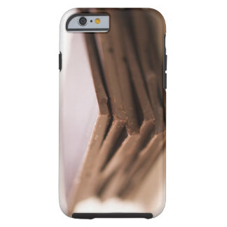A stack of baker's chocolate ready to be chopped tough iPhone 6 case