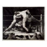 A Stag at Sharkey's - George Bellows Boxing Litho Poster