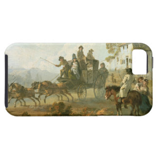 A Stage Coach on a Country Road, 1792 (oil on pane iPhone SE/5/5s Case