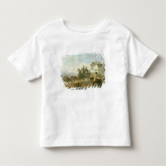 A Stage Coach on a Country Road, 1792 (oil on pane Toddler T-shirt