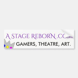 """A Stage Reborn """"OG"""" Bumper Sticker"""