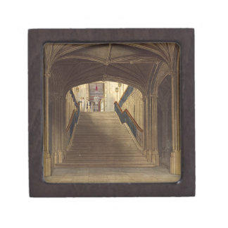 A Staircase, Windsor Castle, from 'Royal Residence Keepsake Box