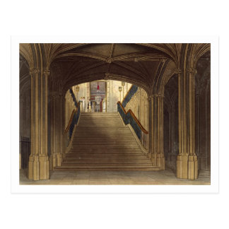 A Staircase, Windsor Castle, from 'Royal Residence Postcard