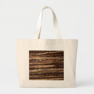 A stalagmite under the microscope large tote bag