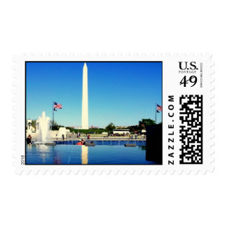 A Stamp of the Washington Monument