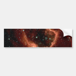 """A Star-Forming """"Bubble"""" Bumper Stickers"""
