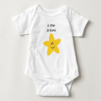 A Star is Born Baby Bodysuit