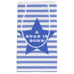A star is born | Blue Star & Stripes Baby Gift Bag