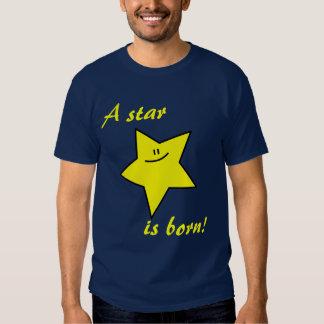 A star is born dark t-shirt (customizable)