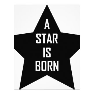 a star is born letterhead