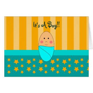 A Star is Born New Born Baby Boy Announcement
