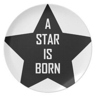 a star is born plate