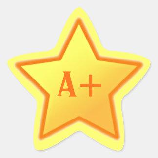 A+ Star Sticker