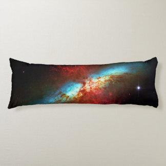A Starburst Galaxy - Messier 82 (Cigar Galaxy) Body Pillow