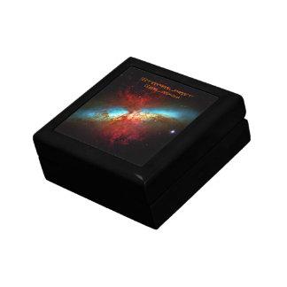 A Starburst Galaxy - Messier 82 (Cigar Galaxy) Jewelry Box