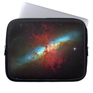 A Starburst Galaxy - Messier 82 (Cigar Galaxy) Laptop Sleeve