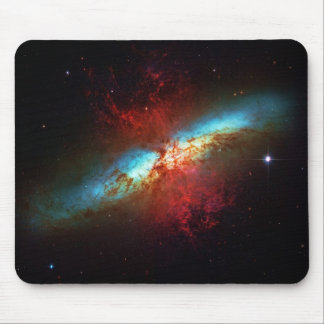 A Starburst Galaxy - Messier 82 (Cigar Galaxy) Mouse Pad