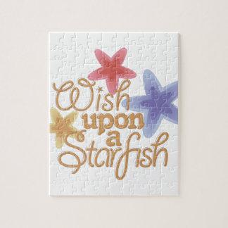 A Starfish Jigsaw Puzzle