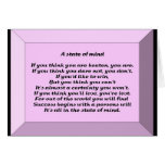 A State of Mind Greeting Card