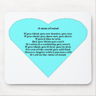 A State of Mind Mouse Pad