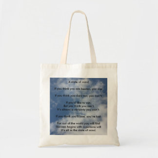 A State of Mind Tote Bag